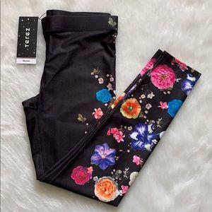 ‼️RESTOCKED‼️Terez Floral Leggings Size L NWT